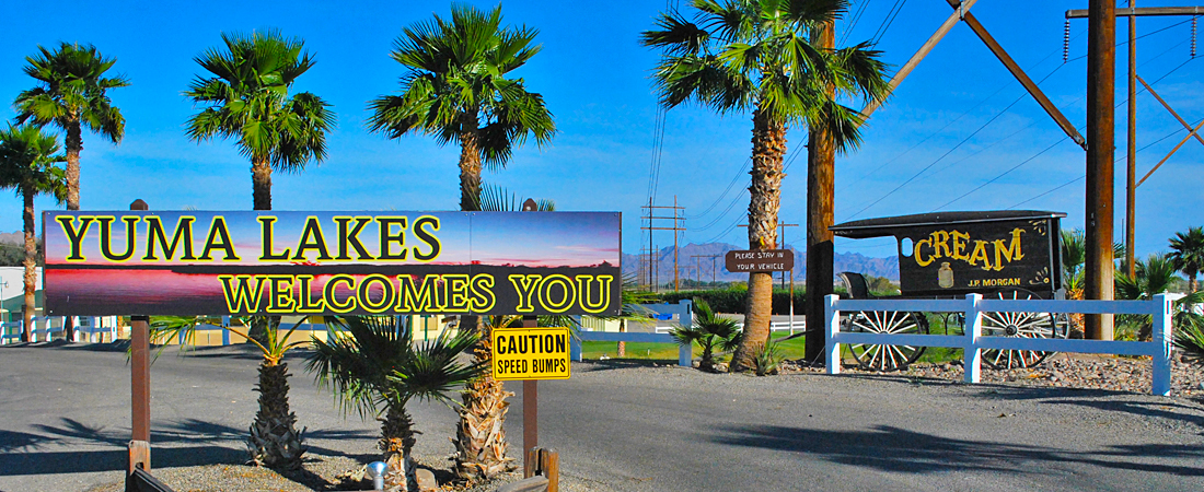Welcome to Yuma Lakes RV Resort