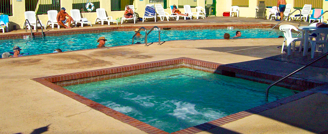 Yuma Lakes RV Resort Jacuzzi
