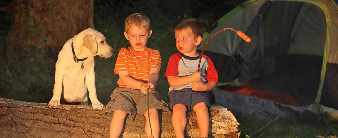Camping fun for the whole Family