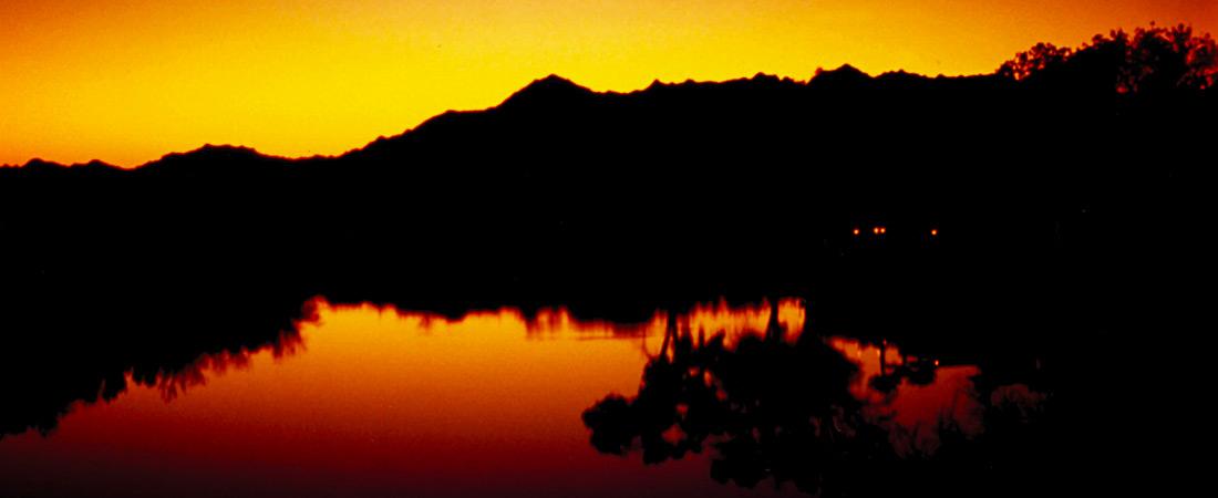 Sunset on the Yuma Lake